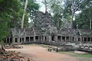 Ta Prohm, Cambodia, entrance