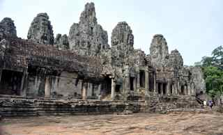 Angkor Thom, temple faces