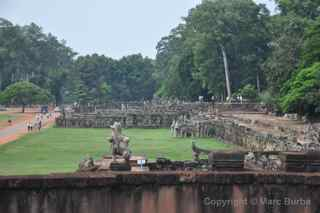 Angkor Thom, Terrace of the Leper King